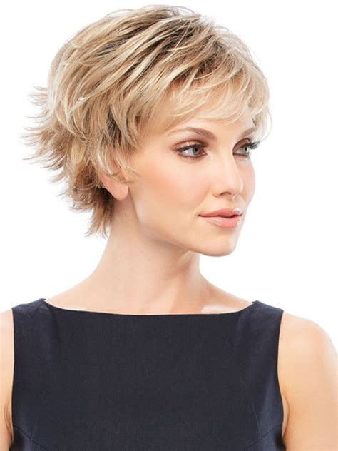 short hairstyles short easy hairstyles for thick hair