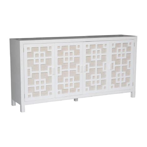 white sideboard jeffan international jv ttm409 tatum sideboard white