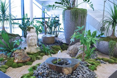 Garden Of Glassdoor Zen Garden In Lobby Genesis Today Office Photo