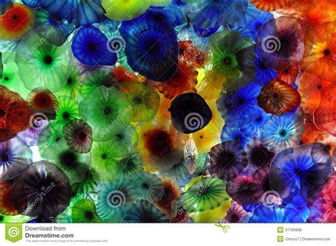 fiori in vetro di murano fiori di vetro di murano da dale chihuly fotografia stock