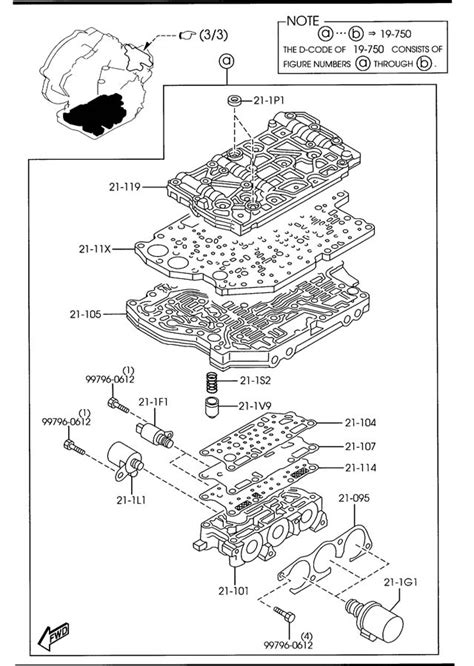 transmission control 1996 mazda b series plus user handbook mazda automatic transmission control valve