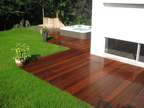 terrasse jardin am 233 nagement cr 233 ation de terrasse de jardin dans le bas