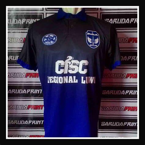 desain baju futsal biru hitam pembuatan jersey futsal pesanan dari sulawesi garuda