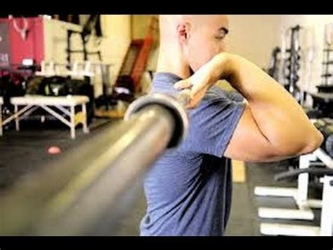 Clean Rack Position by How To Increase Front Squat Flexibility Clean Rack