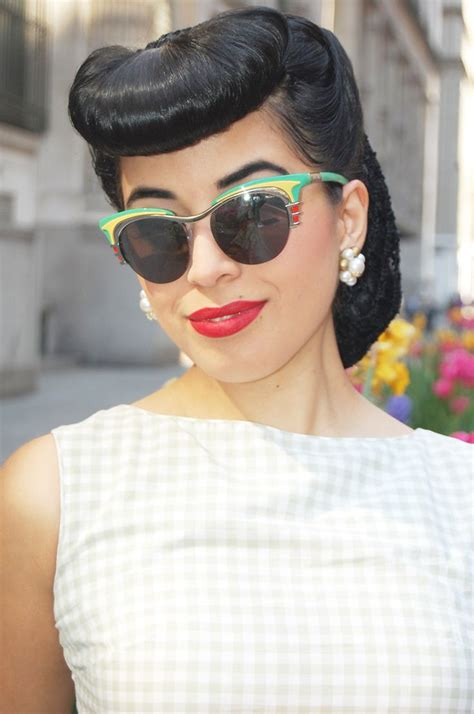 1950 hair styles with bangs 1000 images about vintage pinup hairstyles on pinterest