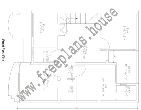 1 meter to square feet 30 215 40 feet 108 square meters house plan