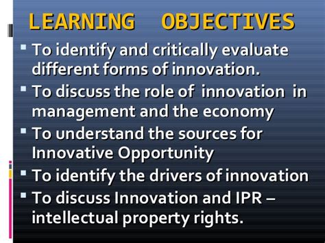 Explain The Different Sources Of Mba by Mod001093 Understanding Innovation 010315