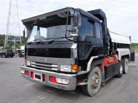 mitsubishi trucks 1990 japanese used mitsubishi fuso great dump 1990 trucks for sale