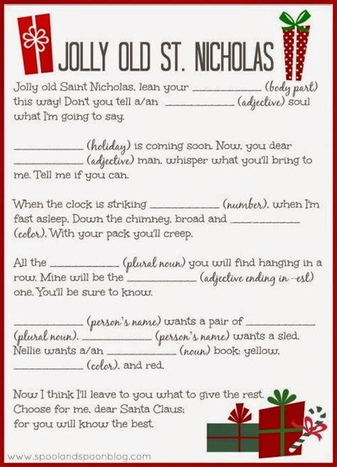 printable christmas games for seniors five printable christmas carol mad libs by spool and spoon
