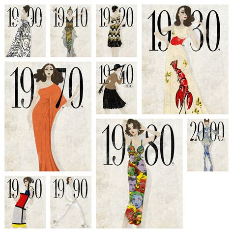 Fabworthy Shop By Your Favorite Decade by Gilded Gypsies The Fashion Era