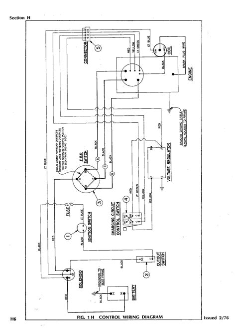 ezgo golf cart wiring diagram gas to westmagazine net