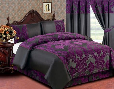 purple and black bedding sets cool purple and black bedroom on other picture ofpurple