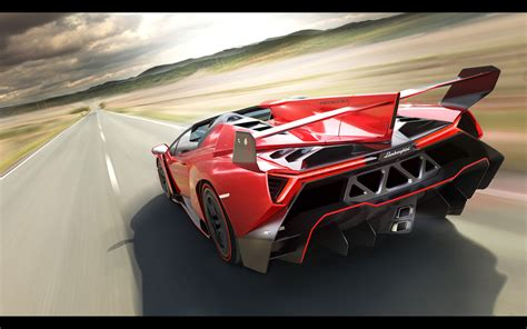 lamborghini veneno roadster  wallpaper hd car