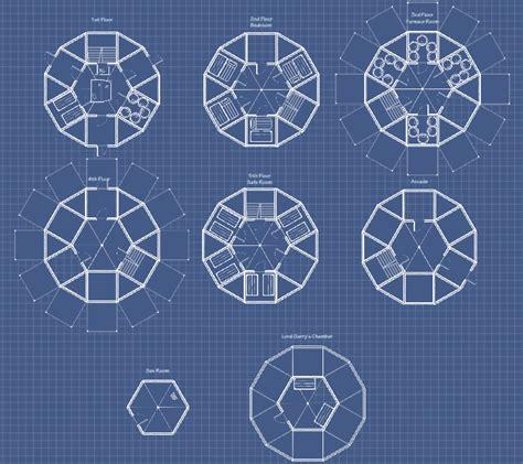 Circular Floor Plans by Basedesign Circular Tower Playrust