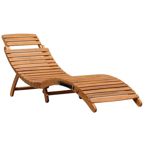 reclining sun lounger charles bentley large folding curved reclining wooden sun