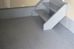 epoxy sealed our garage floor diy