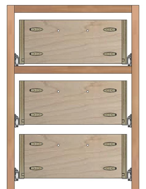 How To Make Drawers For Cabinets by How To Build Drawer Boxes