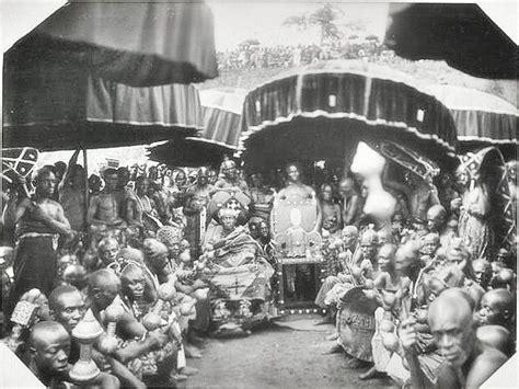 Ashanti Stool History by