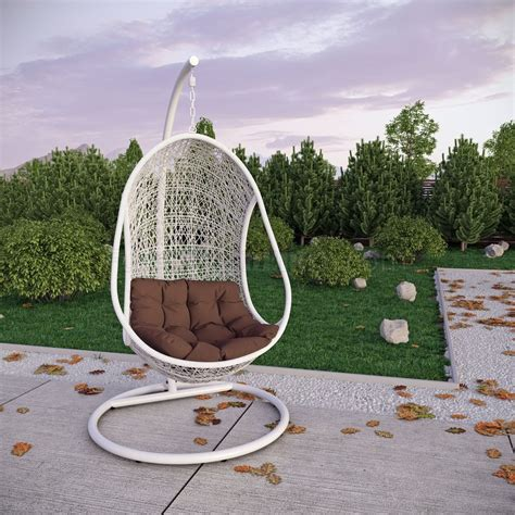 swing patio chair bestow swing outdoor patio lounge chair by modway