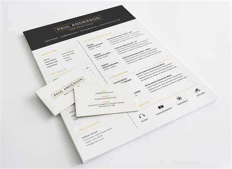 cover letter template indesign printable resume