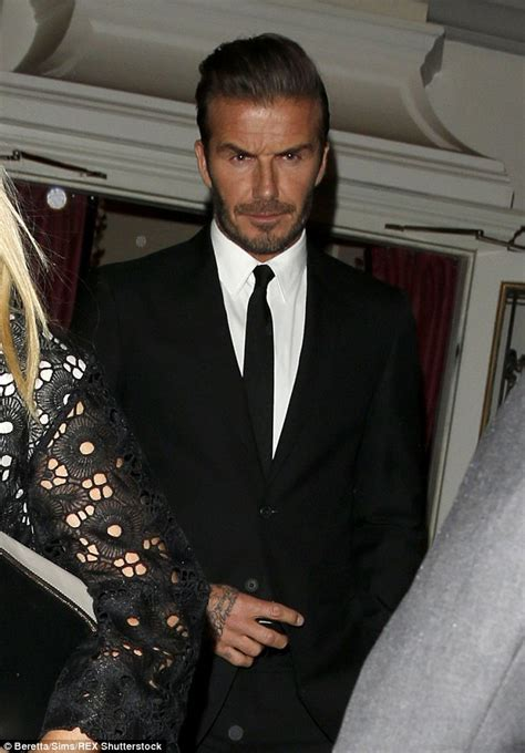 Madmouths The Beckhams Hollyscoop by David Beckham Frustrated As Ben Stiller S Zoolander Aims