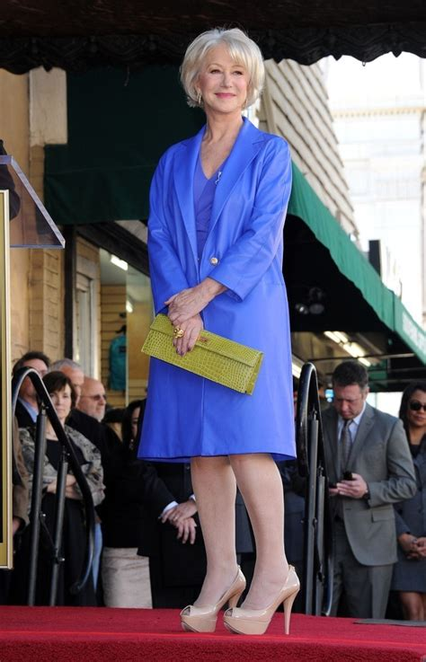 Style Walk Of Fame by More Pics Of Helen Mirren Leather Coat 10 Of 51