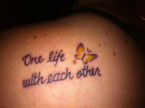 tattoo lyrics u2 got this tattoo in memory of my sister on the 20 year