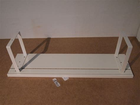 Table Top Shelving Low Budget Table Top Shelf Cable Solution Ikea Hackers