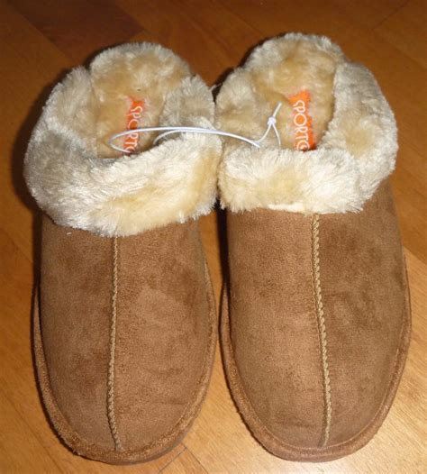 size 9 slippers womens womens sporto scuffs slippers house shoes size 7 8 9 nwt