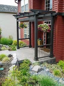 Landscaping with structures
