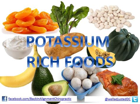 foods high in potassium for importance of potassium