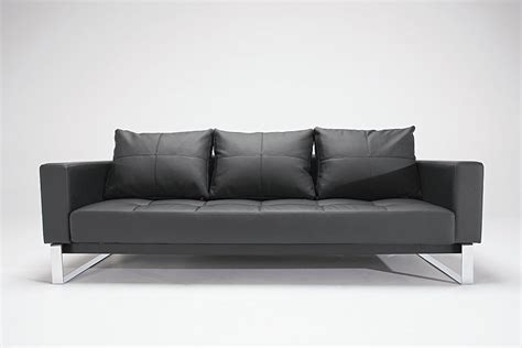 modern leather sleeper sofa modern faux leather sofa norton black faux leather modern