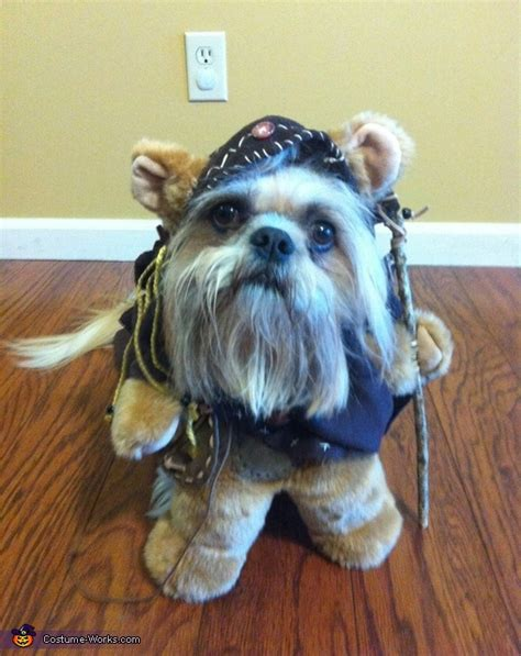ewok costume for ewok dogs costume