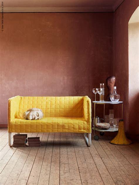 knopparp loveseat knopparp loveseat bright yellow furniture source philippines
