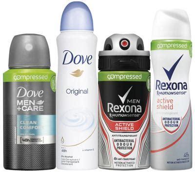 Deodorant Dove Rexona dove of rexona deodorant aanbieding week 32 2016 hoogvliet
