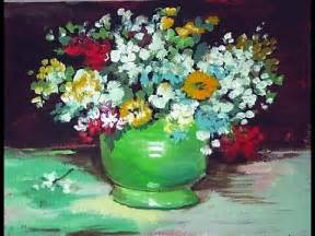 Van Gogh Flowers In Vase How To Paint A Van Gogh Vase With Zinnias And Flowers 60