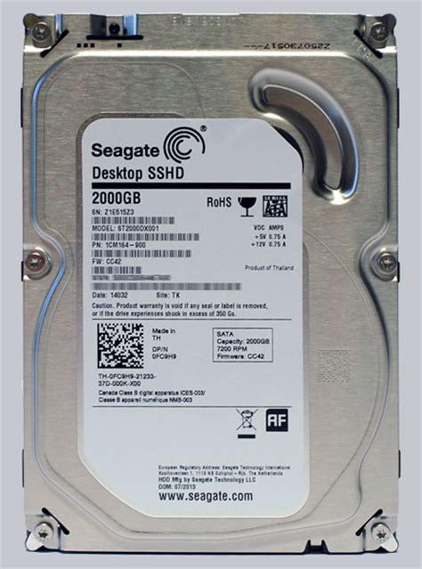 seagate sshd 2tb 3 5 seagate st2000dx001 2tb sshd review