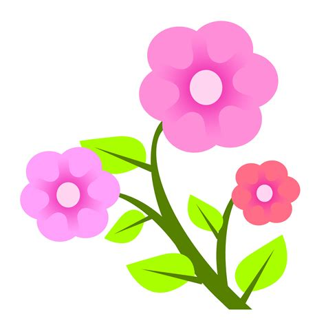 clipart flower png flowers vector png image pngpix