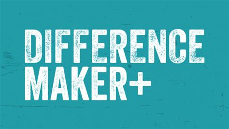 Marvelous Church Of Christ Sermon Ideas #5: Difference-Maker-Sermon-Series-Idea.jpg