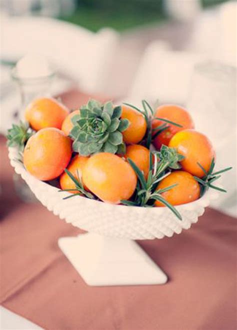 20 fruit centerpieces for every season getting married