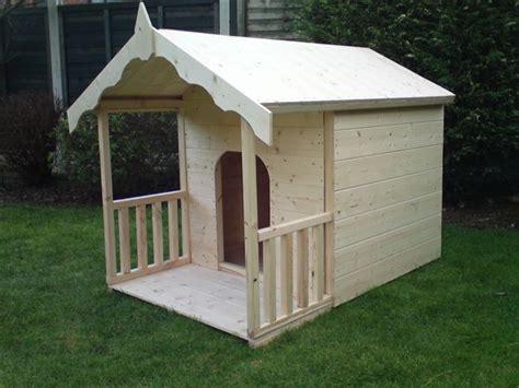 luxury dog houses uk luxury dog kennel doggy summerhouse with veranda dog
