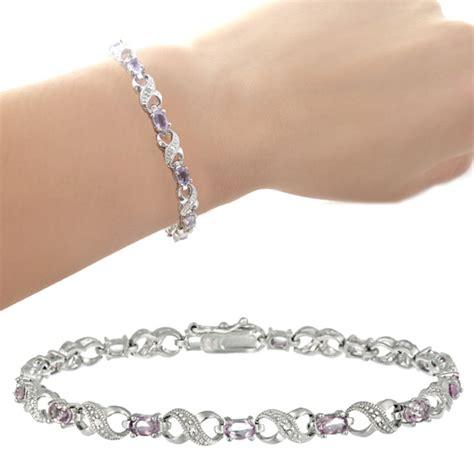 Sterling Silver Gemstone Bracelets