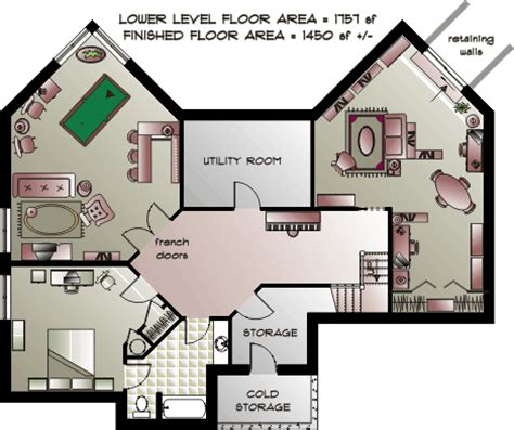what is a bungalow house plan bungalow house plans lower level plan