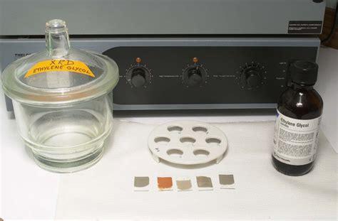 Ethylene Glycol Shelf by Usgs Ofr01 041 Procedures Ethylene Glycol Treatment
