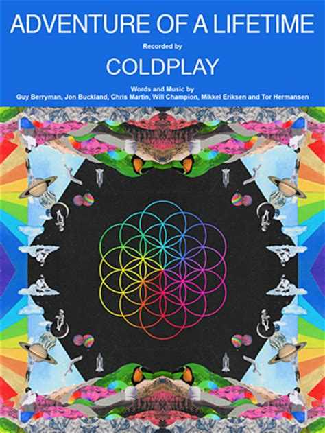 free download mp3 coldplay colour spectrum adventure of a lifetime sheet music direct