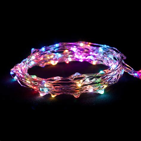ultra thin led light strand ultra thin led battery operated string lights oogalights