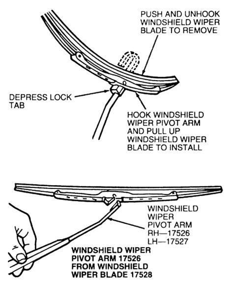 repair windshield wipe control 1993 mercury villager regenerative braking service manual removing rear windshield wiper arm on a 1994 mercury villager anco 174 toyota