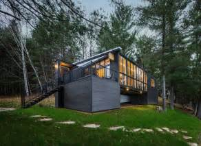modern cottage rising on old heirloom cottage grounds