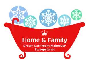 hallmark channel home family dream bathroom makeover sweepstakes win a - Home And Family Sweepstakes