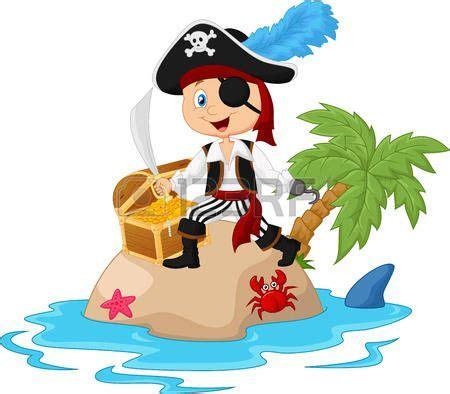 barcos piratas dibujos animados pirata caricatura de dibujos animados pirata en la isla